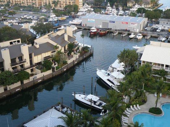 Hilton Fort Lauderdale Marina: vue d' une chambre