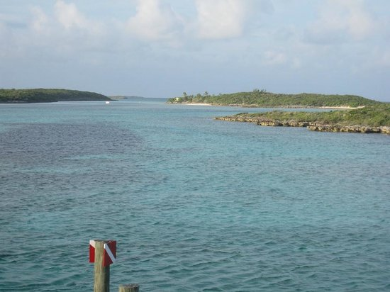 Powerboat Adventures: view from ship channel cay