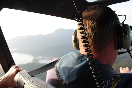 Helioutpost: Flying towards the cable car