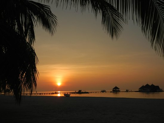 Club Med Kani: Another perfect sunset