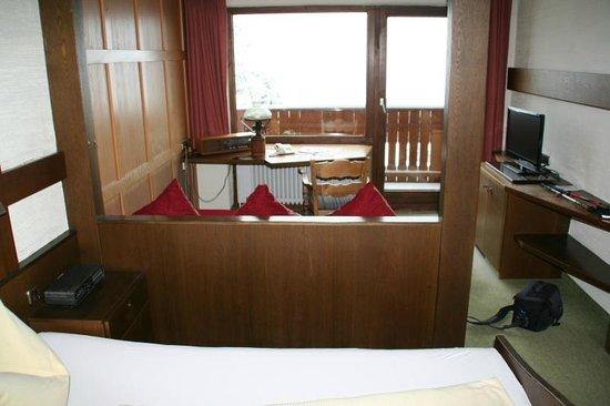Berghotel Tirol: Zimmer
