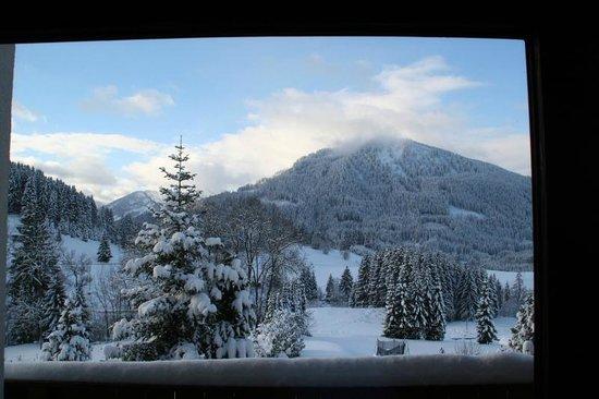 Berghotel Tirol: Blick aus dem Zimmerfenster