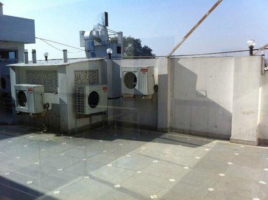 Hotel Maharaja Residency : Rooftop