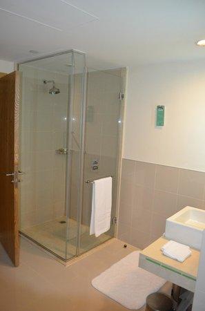 Traders Hotel, Qaryat Al Beri, Abu Dhabi: Shower