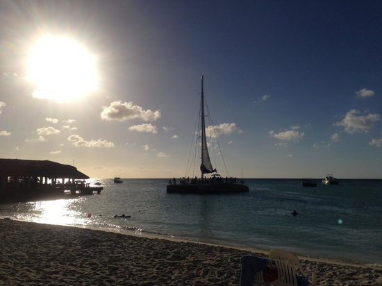 Hilton Aruba Caribbean Resort & Casino: Sailing away again