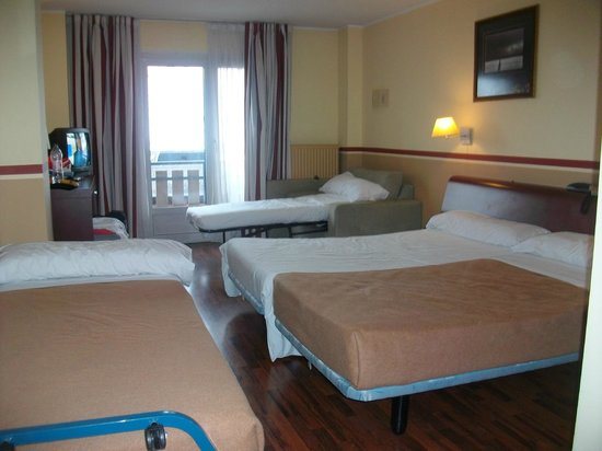 Hotel Himalaia Pas: Quadruple room