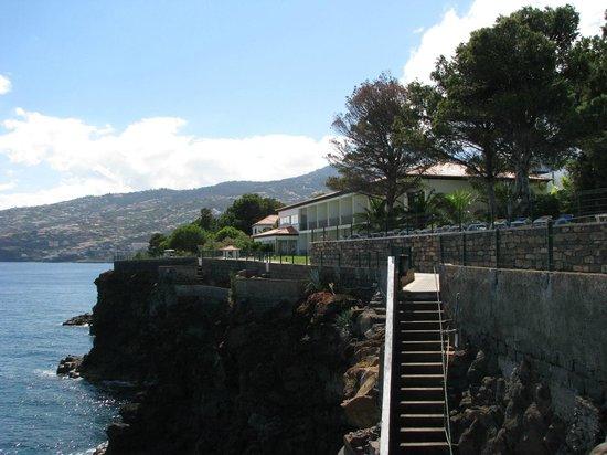 Albatroz Beach & Yacht Club: Blick aufs Hotel