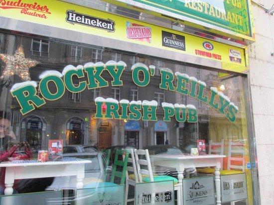 Rocky O'Reillys: The front window