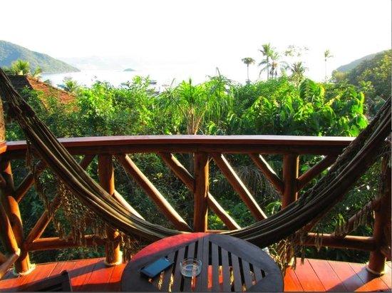 Pousada Naturalia: Balcon