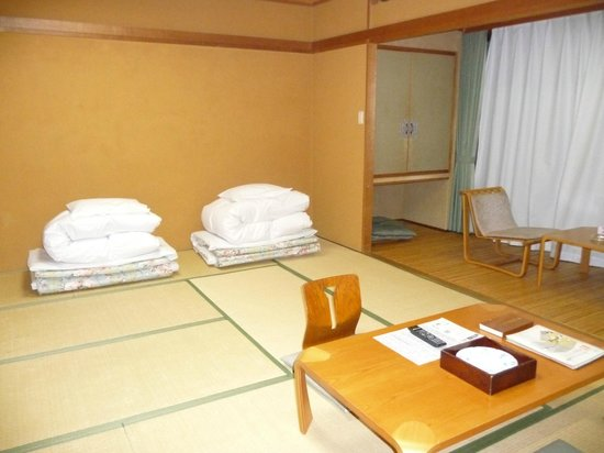 Hotel hakone Powell: Tatami room view from another angle