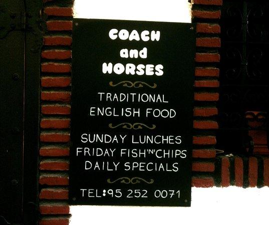 The Coach and Horses: Coach & Horses - signage