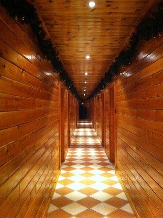 Hotel Ranga: Corridor to room