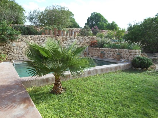 Ferme di Lalla Abouch: giardino