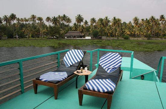 Privacy at Sanctuary Bay: Deck of Discovery - Kerala (India)