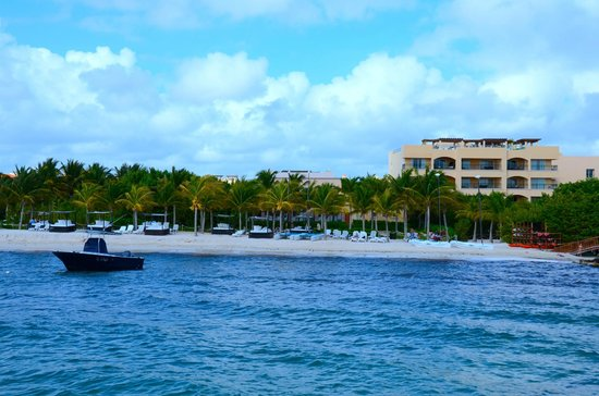 Hacienda Tres Rios: Hotel View from the Pier