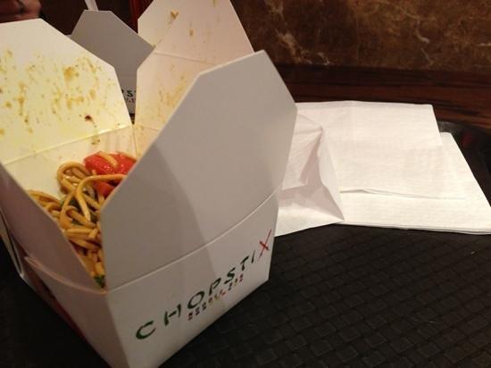 Chopstix: food in a box