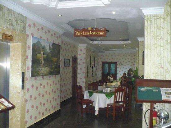 Parklane Hotel: Dining area