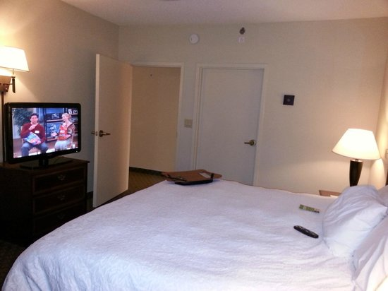 Hampton Inn & Suites Alpharetta: Master bedroom