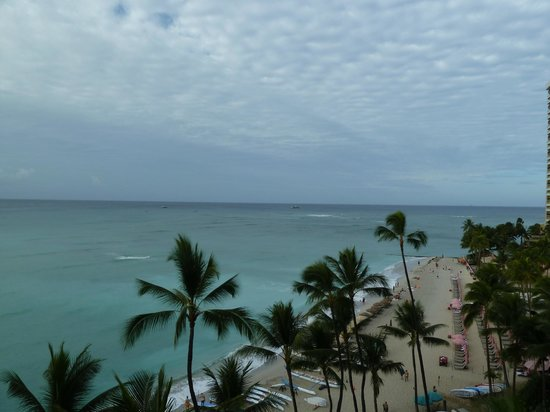 Outrigger Waikiki Beach Resort: View from Room 624