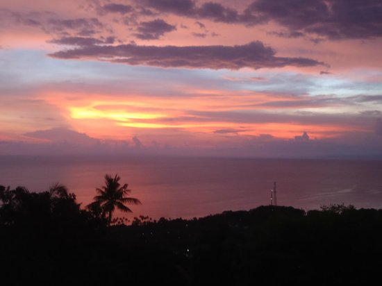 The Puncak: Another amazing sunset from the room