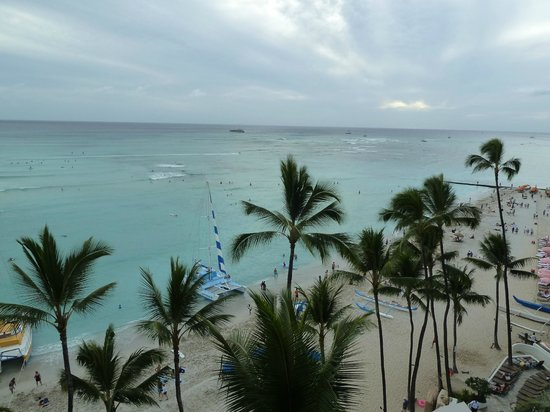 Outrigger Waikiki Beach Resort: View of gorgeous ocean