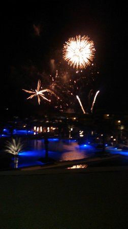 The Grand Mayan Los Cabos: Fireworks on Christmas Eve