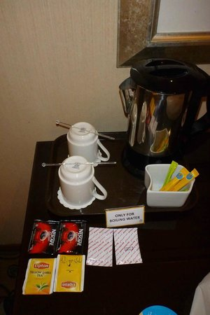 The Country Club Hotel: Tea/coffee