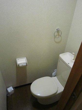 Kyoto Hana Hostel: Toilet