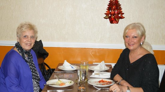 Shimla Palace Indian Restaurant: Customers- New Year 2013