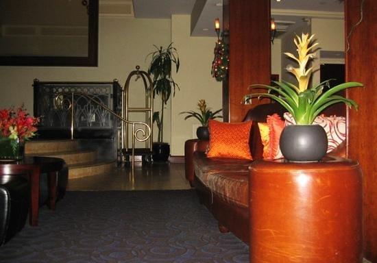 Park South Hotel: Hotel lobby