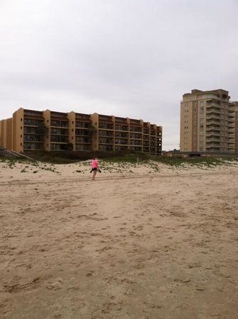 Suntide II Resort Condominiums: Suntidell faces the Gulf