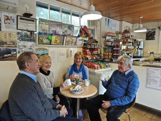 Signal Box Cafe: First time visitors Jan 1st 2013