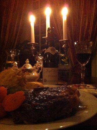 Ashley Park House: Dinner