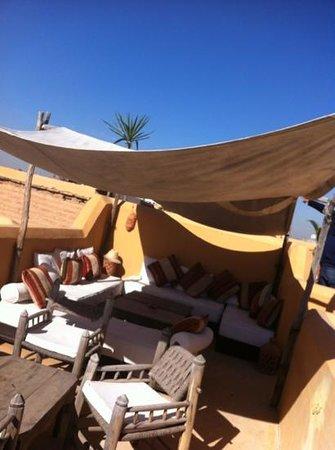Dar Hanane: terrazza 