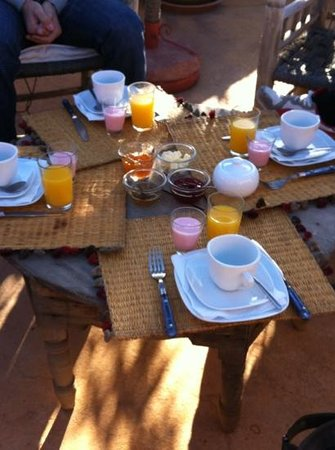 Dar Hanane: breakfast