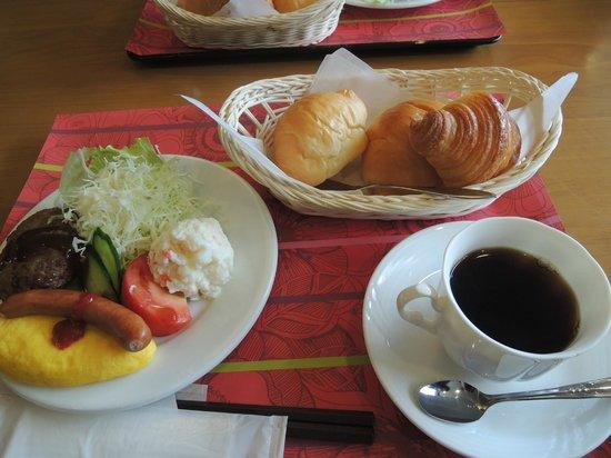 Kakusenan: 朝食