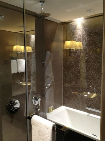 Hyatt Regency Dusseldorf: Bathroom Standard Room