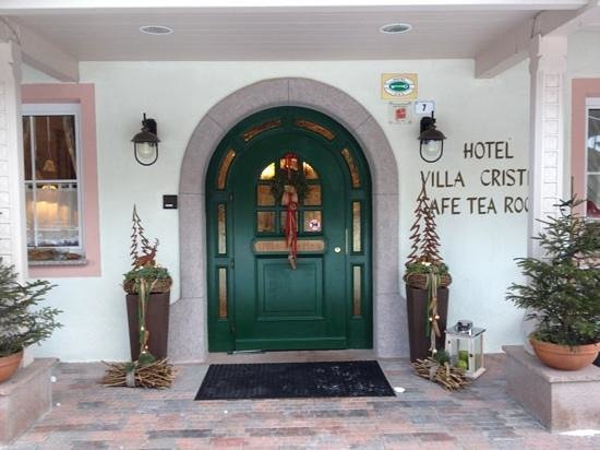 Hotel Villa Cristina: L'entrata