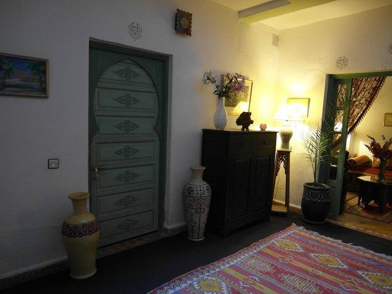 Riad Cherihane: L'entrée