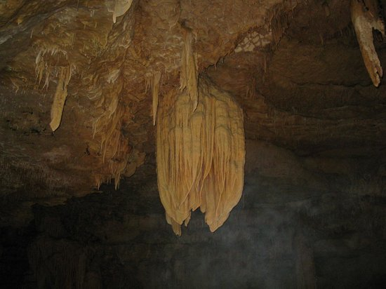 "Natural Bridge Caverns: They called this ""The Chandelier""..."