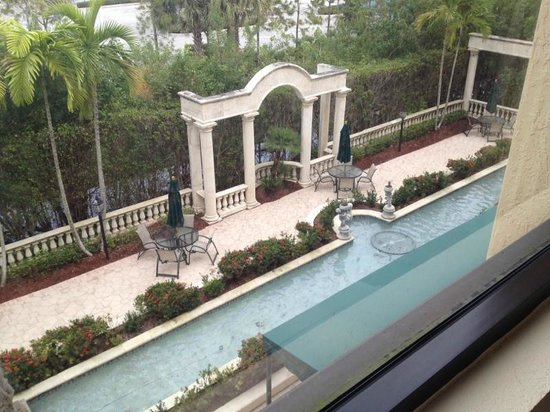 Hampton Inn Palm Beach Gardens: View from the room