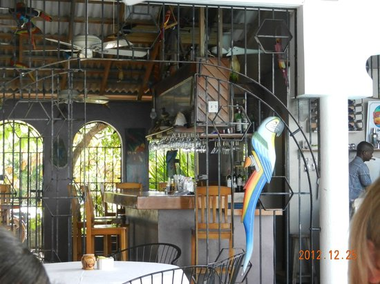 Osprey Beach Hotel: The Bird Cage Bar at Osprey