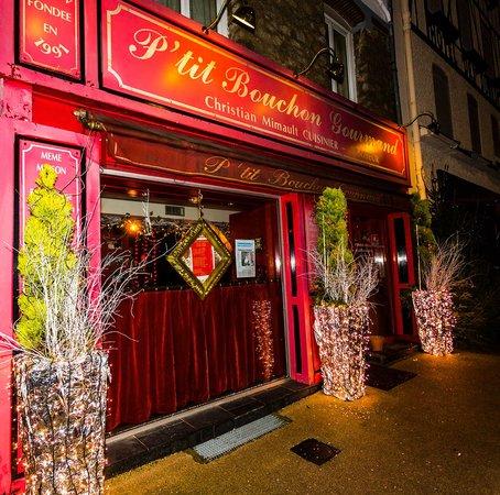 Au P'tit Bouchon Gourmand : L'entree du Restaurant