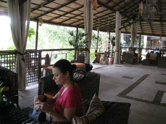 Amazon Ecopark Jungle Lodge: Hotel reception