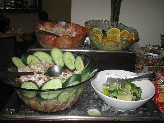 Restaurante Azulejos: Meeresfrüchte