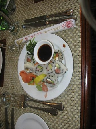Restaurante Azulejos: Sushi