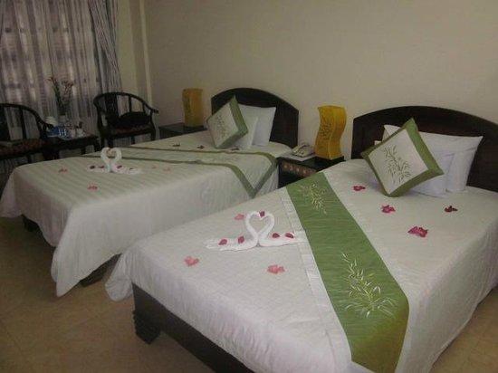 Hai Au Boutique hotel and spa: Room