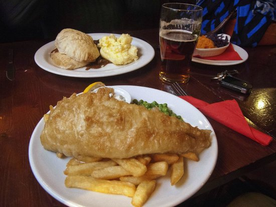 The Eight Bells: our Lunch