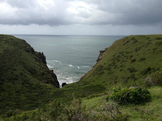 Morgan Bay Hotel: Cliff walk