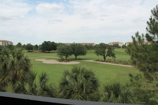 Holiday Inn Club Vacations At Orange Lake Resort: View from screened-in balcony